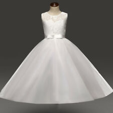 Flower Girl Dress Kids Communion Party Prom Wedding Bridesmaid Formal Dresses