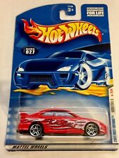 🏁 HOT WHEELS 2001 Red Honda Civic - First Editions - w/PR5's 🏁