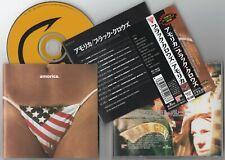 THE BLACK CROWES - Amorica - 1994 JAPAN OBI +B/T