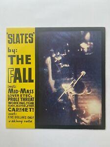 THE FALL: Slates EP. Vinyl LP. Rough Trade 1981. Post Punk. Rare!
