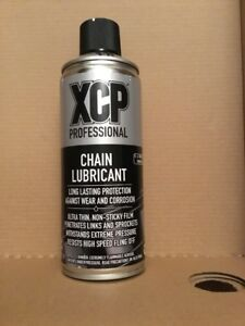 Motorcycle Chain Lube XCP Aerosol Spray 400ml  non sticky anti corrosion Honda