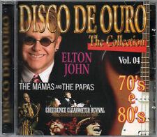 Disco de Ouro Cd Vol. 4 Elton John B.J. Thomas Creedence Clearwater Revival