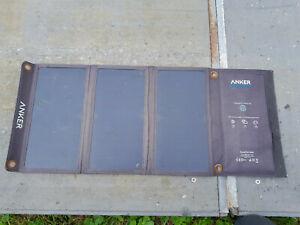 Anker PowerPort USB Solar Panel 21W 2 USB Port Solar Ladegerät Faltbares Panel