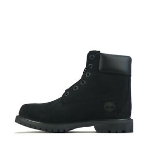 Timberland Women's Premium 6 Inch Waterproof Boot Shoes Black