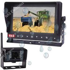 New Digital Wireless Rear View System 7inch Waterproof Monitor Backup Camera