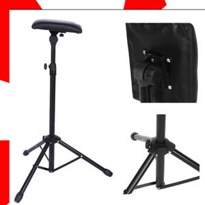 Adjustable Folding Tattoo Tripod Stand For Arm Leg Rest Studio Chair Sponge Pad