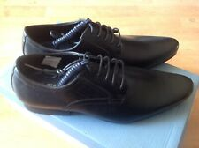 Mens Black Stone Creek Lace Shoes, Size 6 RRP £32 New Shop Clearance  (muswell)
