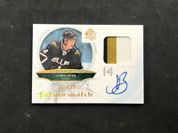 2009-10 SP AUTHENTIC JAMIE BENN ROOKIE FUTURE WATCH AUTO PATCH #ed 47/100