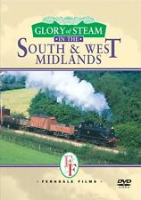 The Glory Of Steam - South & West Midlands New DVD Railway Locomotive engines