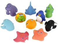 SQUIRTING SEA ANIMALS BATH TUB TOYS KIDS BATH TOY FIGURES STARFISH PENGUIN