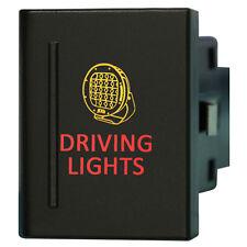 Amarok Switch A120L DRIVING LIGHTS on-off LED amber red VM Left side 12V 3A
