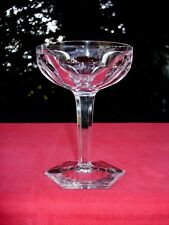 BACCARAT COMPIEGNE TALL SHERBET COUPE A CHAMPAGNE CRISTAL TAILLÉ SEKTGLÄSER