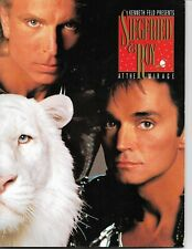 1991-BOOKLET-PAMPHLET-SIEGFRIED & ROY-AT THE MIRAGE-SOUVENIR BOOK