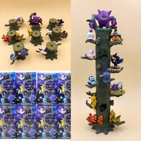 Pokemon Go Tree Roots Toy Jenga Pikachu Eevee Gengar Figures Halloween Style