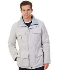 Nautica Men's Solid Parka Jacket Sand Drift Large NWT $168