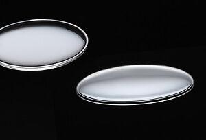 Kunststoff-UHRENGLAS Lentille normalgewölbt für AU /10-48 mm Durchmesser AUSWAHL