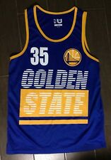 Mens Golden State Warriors Kevin Durant Nba Basketball Jersey Sz Small S