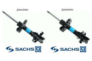 Front Pair of Shock Absorbers Struts FOR HONDA CIVIC Mk8 06-11 2.0 Petrol SACHS
