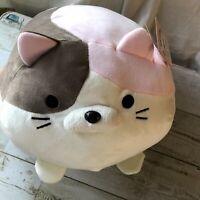 Lazy Cat Summit Plush bouncy stuffed animal SATO Goroneko Summit f/s Japan