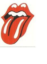 Rolling stones langue Band Logo Mur Art Autocollant AS10262