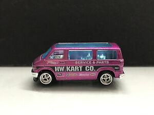 2022 Hot Wheels Super treasure hunt STH > Dodge Van , Loose