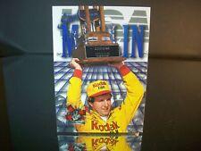 Sterling Marlin #4 Kodak Press Pass 1995 Card #137 Daytona 500 Winner