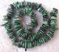 "Sun stone Aquamarine Ruby zoisite Labradorite Kyanite Freeform Beads 15.5"""