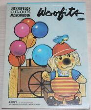 WOOFITS - Bloc Adec ouper - Uitknipblok Cut-outs Ausschneiden - Jesco 1981