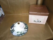 portmeirion ted baker rosie lee covered starter plate / butter / cheese dish