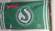 Saskatchewan Roughrider/Old Style Pilsner Flag - Classic Logo Version- 2 Sided