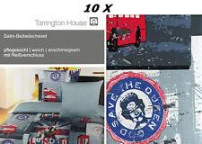✿ 10 X 2-TEILIIG SET • 135 X 200 • TARRINGTON BAUMWOLLSATIN BETTWÄSCHE • SATIN ✿