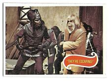 PLANET OF THE APES MOVIE CARD NO 30 THEY'RE ESCAPING! TOPPS NRMINT+ 5128