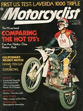 1974 October Motorcyclist - Vintage Motorcycle Magazine