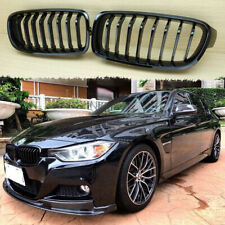 Piano Black BMW F30 F31 front Grille Grill 328i 335i 316d 318d 320d + USB Cable
