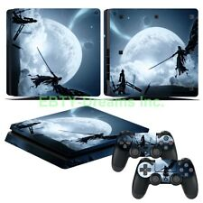 Final Fantasy VII FF7 FFVII Cloud Vinyl Skin Sticker Decal Protector PS4 Slim
