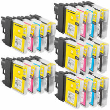 20 Ink Cartridges For Brother LC61 LC-61 MFC-J265w MFC-J270w MFC-J410w MFC-J415w