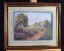 Inspirational Fine Art Print floral Garden & Cottage by Linda Wacaster