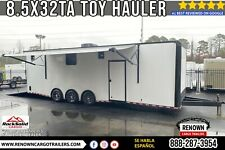 85x32 Ta Enclosed Toy Hauler With Bathroom Package