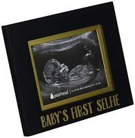* Baby's First Selfie* Keepsake Ultrasound Sonogram Photo Frame NIB!