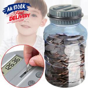 LCD Counter Money Coin Electronic Bank Digital Counting Jar Saving Box