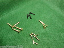 Thompson Center Cherokee Brass & Blued Wood Screws Two Complete Sets New Screws