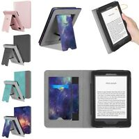 For All-New Kindle 10th Gen 2019 Stand Case Sleeve Cover w/Card Slot+Hand Strap