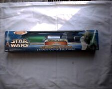 Aotc Yoda Electronic Lightsaber ,New,Unopened