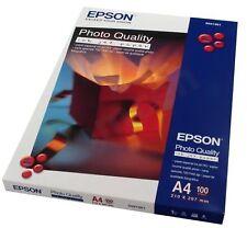 Original Epson A4 Matte Photo Quality Inkjet Paper 102gsm - 100 Sheets (C13S0410