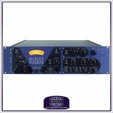 Manley Labs VoxBox Channel Strip Mic Pre Compressor *NEW* EQ Vox Box  WARRANTY!