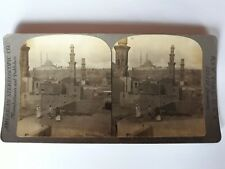 VUE STEREOSCOPIQUE  EGYPTE Le Caire  1900