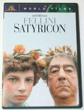 Fellini Satyricon DVD.  1968 Film World Films.