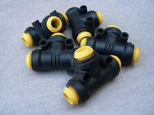 5 raccord pneumatique rapide en T pour tuyau diamètre 8mm  PRESTOLOK (6)