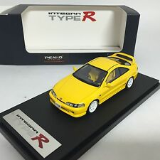 1/43 Mark43 Honda Integra Type-R 1995 DC2 Sunlight Yellow for Peako PM4328Y