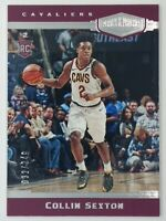 2018-19 Panini Chronicles Plates & Patches Collin Sexton Rookie RC #399, #'d/249